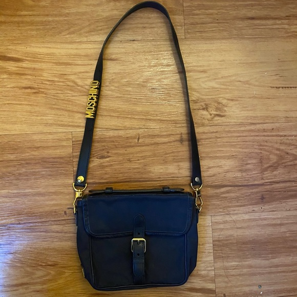Vintage 1992-93 authentic Moschino shoulder bag